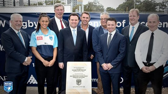 Rising rugby league stars set to shine at new $20 million High Performance Centre