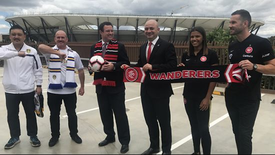 Wanderers to make Western Sydney Stadium debut against Leeds
