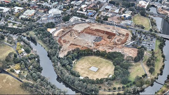 Work starts on Western Sydney home of sport