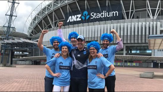 Brad Filter's Emerging Blues to hit ANZ Stadium in January