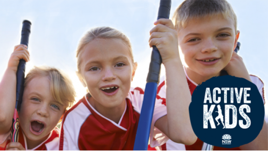 Active Kids - $100 for every child to play sport