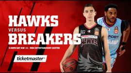 Illawarra Hawks vs New Zealand Breakers