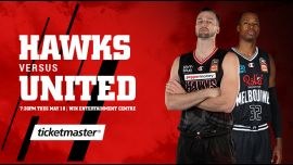 Illawarra Hawks vs Melbourne United