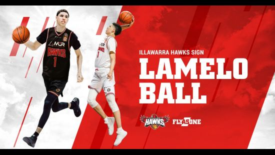 Illawarra Hawks sign LeMelo Ball