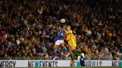 Matildas vs Brazil McDonald Jones Stadium (Source: Grant Sproule)