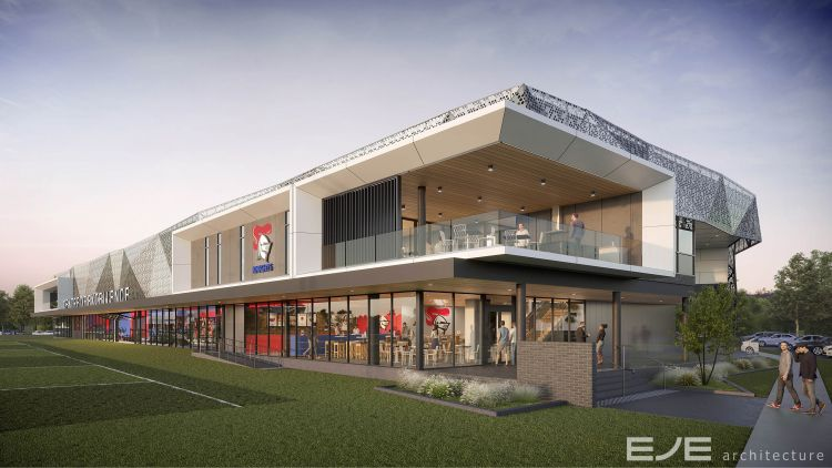 Knights Centre of Excellence one step closer to reality