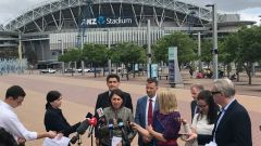 Premier Gladys Berejiklian announces Light Rail for Olympic Park